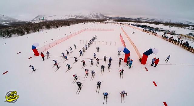 Лыжный стадион Тирвас Кировск