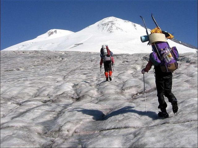 Самые популярные вершины у горных туристов в России